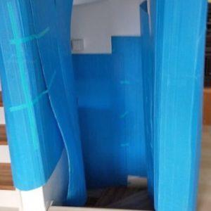 エレベーターは勿論!不安な場所有りましたら壁養生致します!